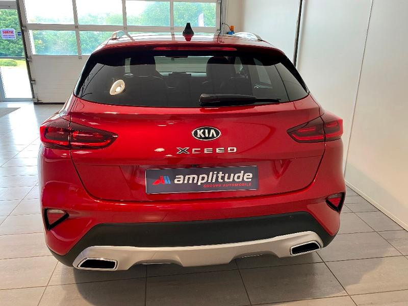 Kia XCeed 1.6 GDi 105ch + Plug-In 60.5ch Design DCT6 Rouge occasion à Chaumont - photo n°5