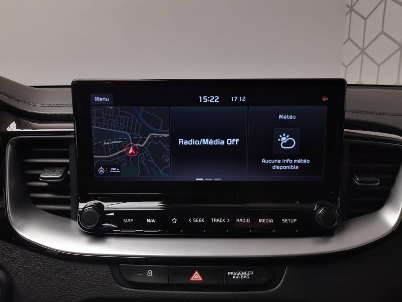 Kia XCeed XCeed 1.6l CRDi 115 ch DCT7 ISG Active 5p Gris occasion à Saint-Laurent-des-Vignes - photo n°7
