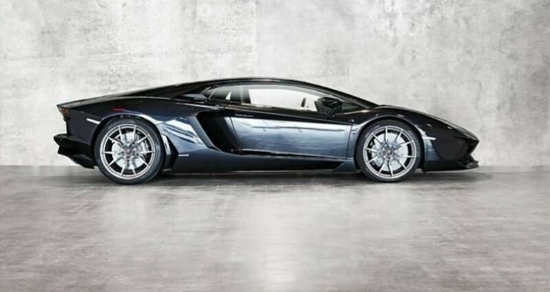 Lamborghini Aventador Lamborghini Aventador LP 700-4 Noir occasion à Mudaison - photo n°3