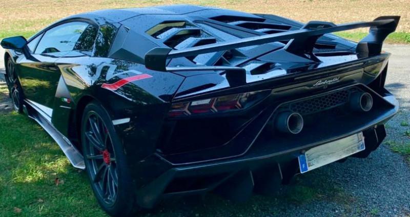 Lamborghini Aventador Lamborghini Aventador SVJ 6.5l LP770-4 Noir occasion à Paris - photo n°3