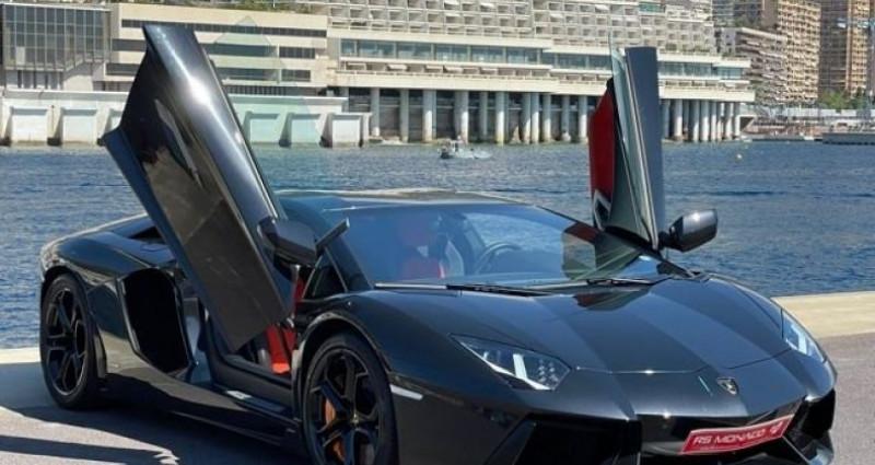 Lamborghini Aventador LP 700 - 10 500kms Noir occasion à Monaco