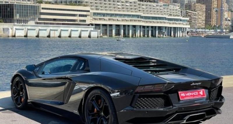 Lamborghini Aventador LP 700 - 10 500kms Noir occasion à Monaco - photo n°2