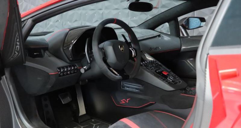 Lamborghini Aventador SV LP 750-4  occasion à CHAVILLE - photo n°7