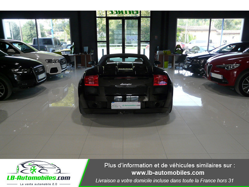 Lamborghini gallardo 5.0 V10 520 E-GEAR  occasion à Beaupuy - photo n°11