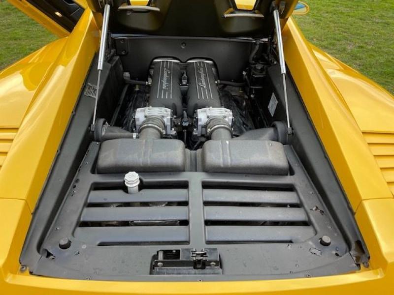 Lamborghini gallardo COUPE 5.0 V10 500 E GEAR Jaune occasion à Vacquiers - photo n°8