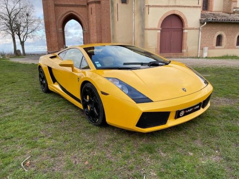 Lamborghini gallardo COUPE 5.0 V10 500 E GEAR Jaune occasion à Vacquiers