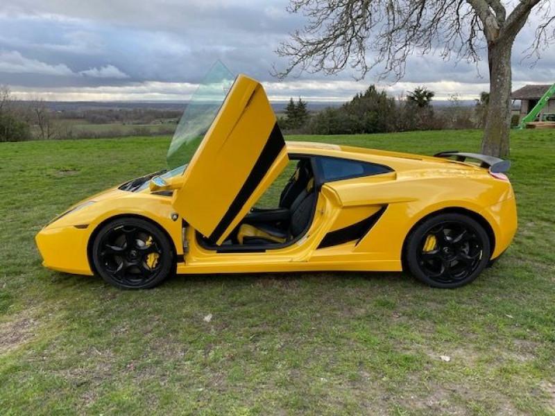 Lamborghini gallardo COUPE 5.0 V10 500 E GEAR Jaune occasion à Vacquiers - photo n°6