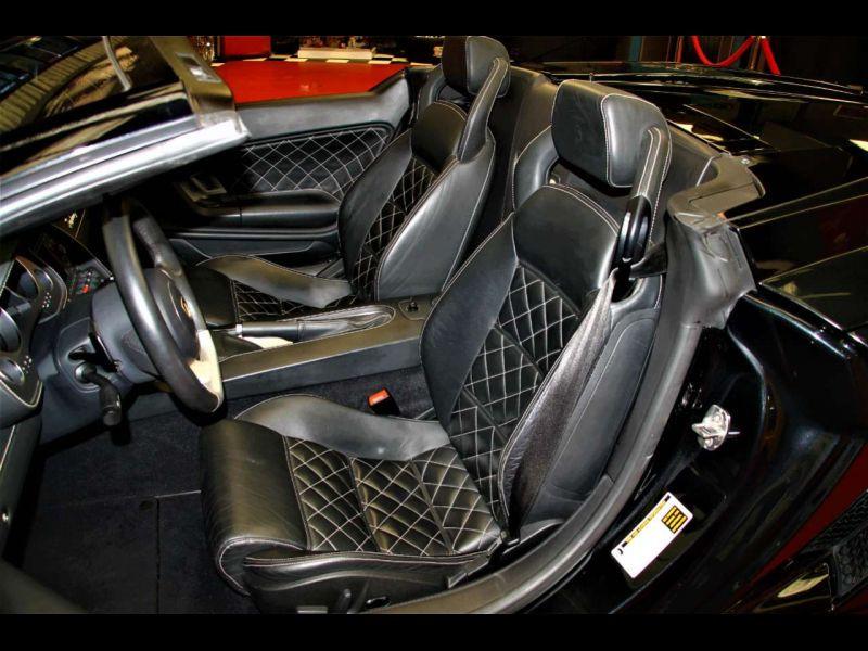 Lamborghini gallardo Spyder 5.0 V10 520 ch Noir occasion à BEAUPUY - photo n°4