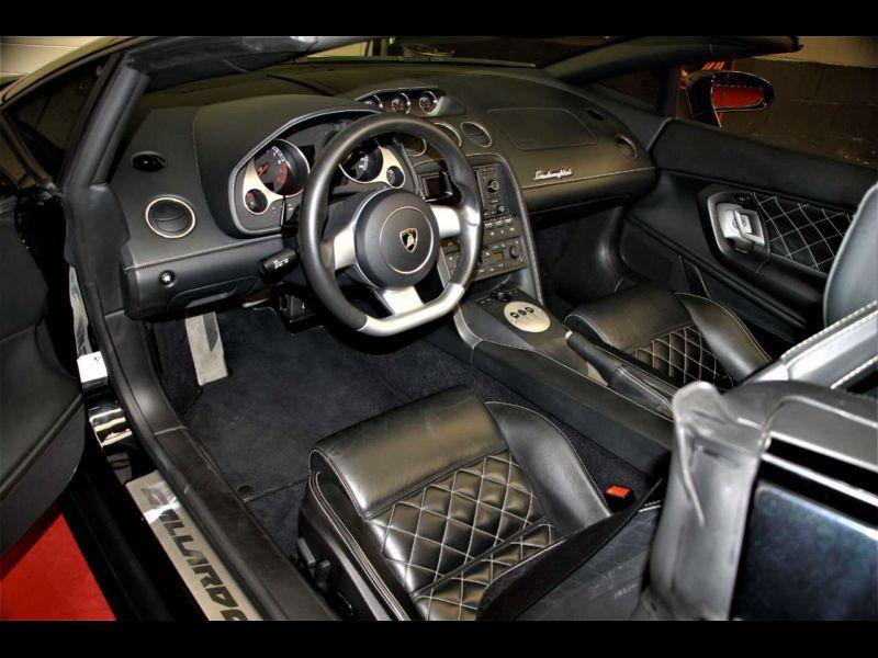 Lamborghini gallardo Spyder 5.0 V10 520 ch Noir occasion à BEAUPUY - photo n°2