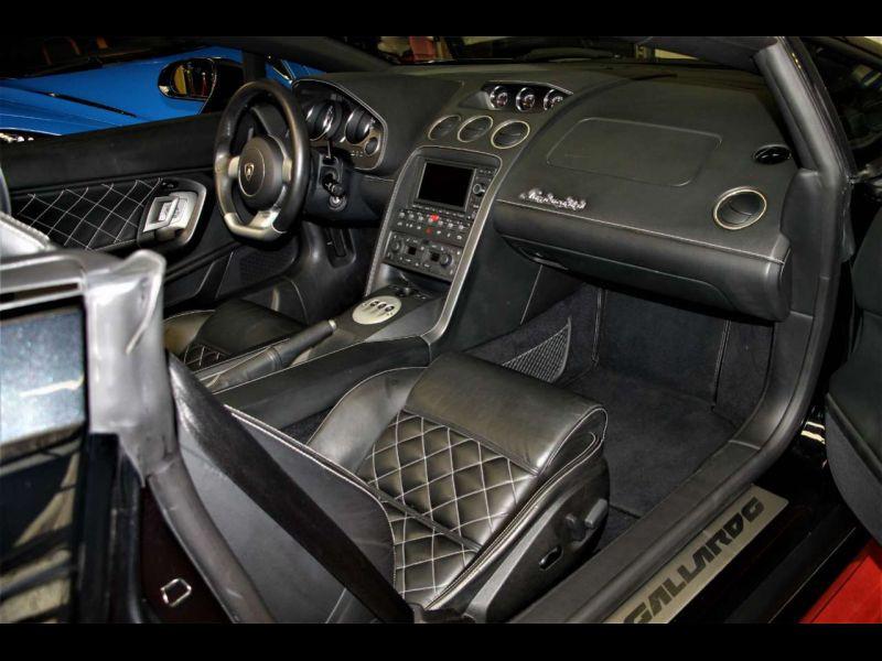 Lamborghini gallardo Spyder 5.0 V10 520 ch Noir occasion à BEAUPUY - photo n°5