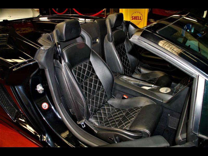 Lamborghini gallardo Spyder 5.0 V10 520 ch Noir occasion à BEAUPUY - photo n°6