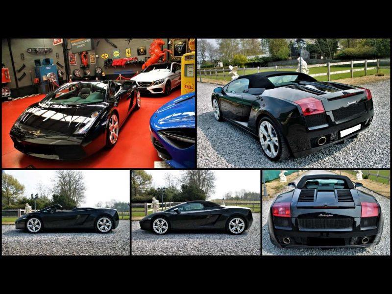 Lamborghini gallardo Spyder 5.0 V10 520 ch Noir occasion à BEAUPUY - photo n°7