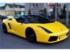 Lamborghini gallardo Spyder 5.0 V10 520 ch Jaune à BEAUPUY 31