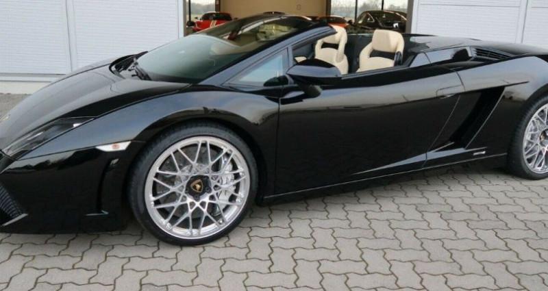 Lamborghini gallardo SPYDER LP560-4 E-GEAR Noir occasion à Saint Patrice - photo n°2