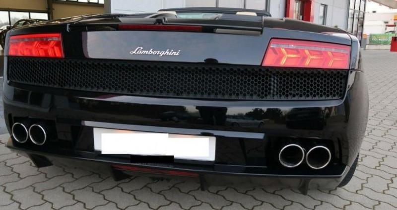 Lamborghini gallardo SPYDER LP560-4 E-GEAR Noir occasion à Saint Patrice - photo n°3