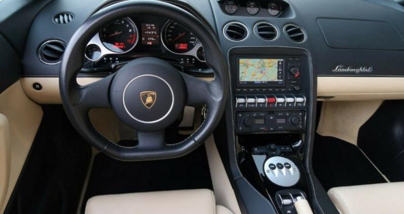 Lamborghini gallardo SPYDER LP560-4 E-GEAR Noir occasion à Saint Patrice - photo n°4
