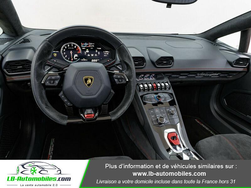 Lamborghini Huracan 5.2 V10 LP610-4 Rouge occasion à Beaupuy - photo n°6