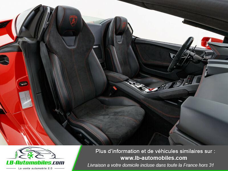 Lamborghini Huracan 5.2 V10 LP610-4 Rouge occasion à Beaupuy - photo n°5