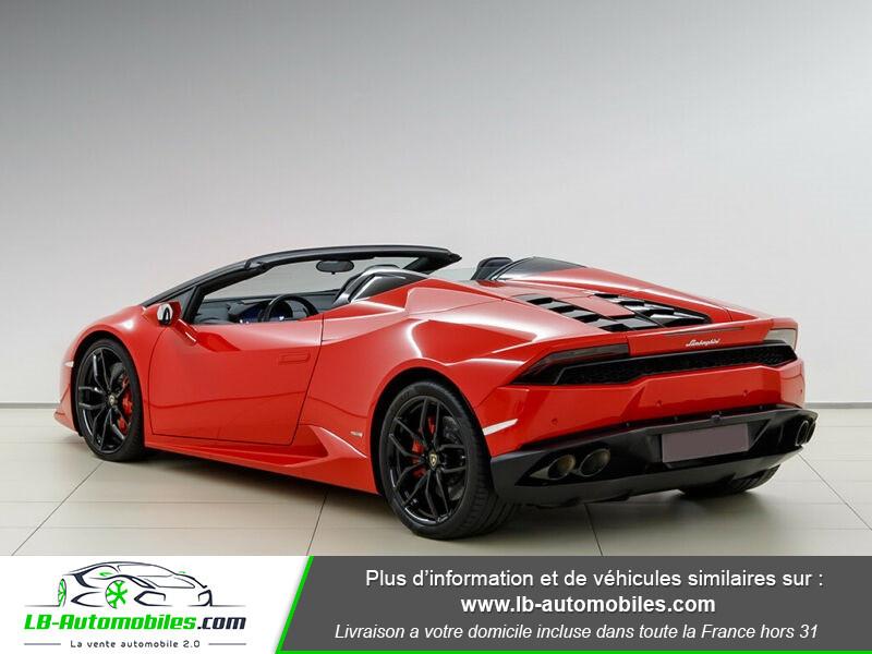 Lamborghini Huracan 5.2 V10 LP610-4 Rouge occasion à Beaupuy - photo n°3