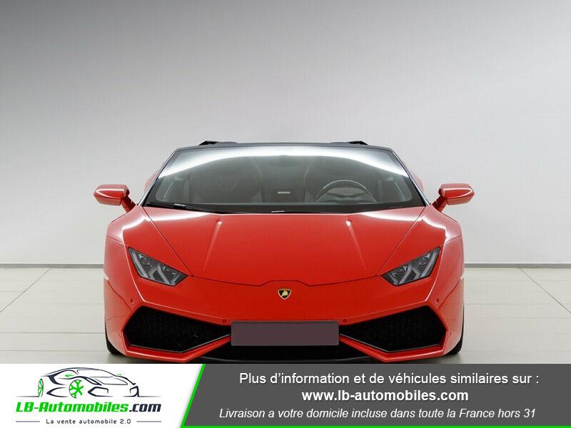 Lamborghini Huracan 5.2 V10 LP610-4 Rouge occasion à Beaupuy - photo n°13
