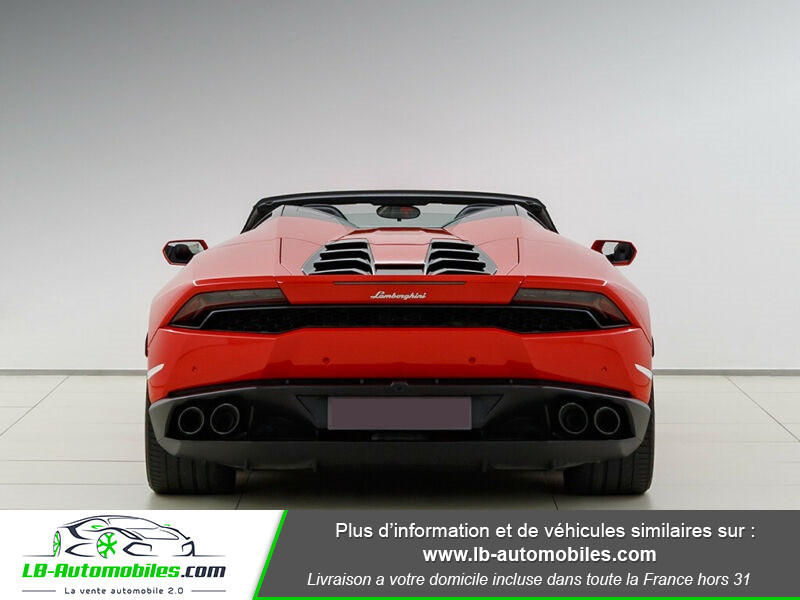 Lamborghini Huracan 5.2 V10 LP610-4 Rouge occasion à Beaupuy - photo n°12