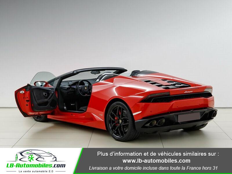 Lamborghini Huracan 5.2 V10 LP610-4 Rouge occasion à Beaupuy - photo n°10