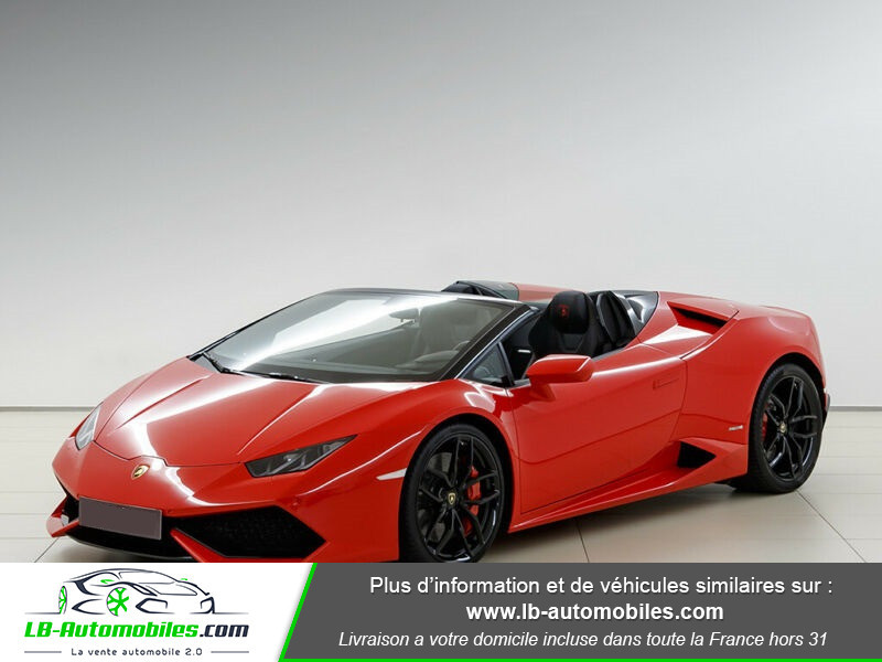 Lamborghini Huracan 5.2 V10 LP610-4 Rouge occasion à Beaupuy