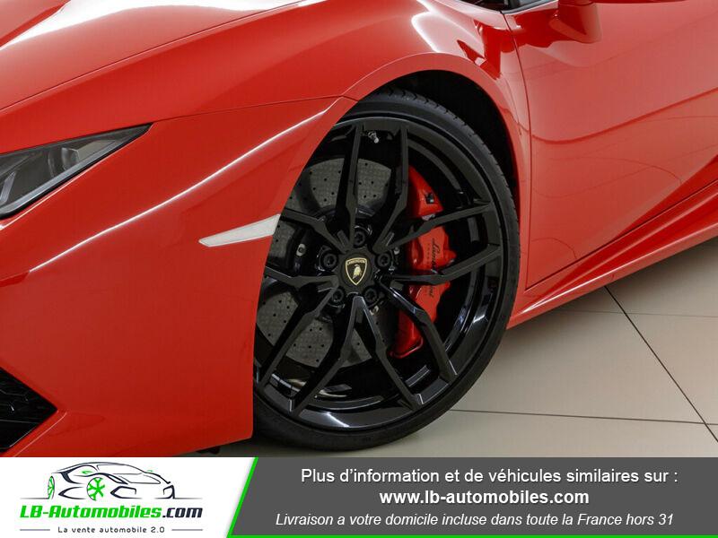 Lamborghini Huracan 5.2 V10 LP610-4 Rouge occasion à Beaupuy - photo n°14