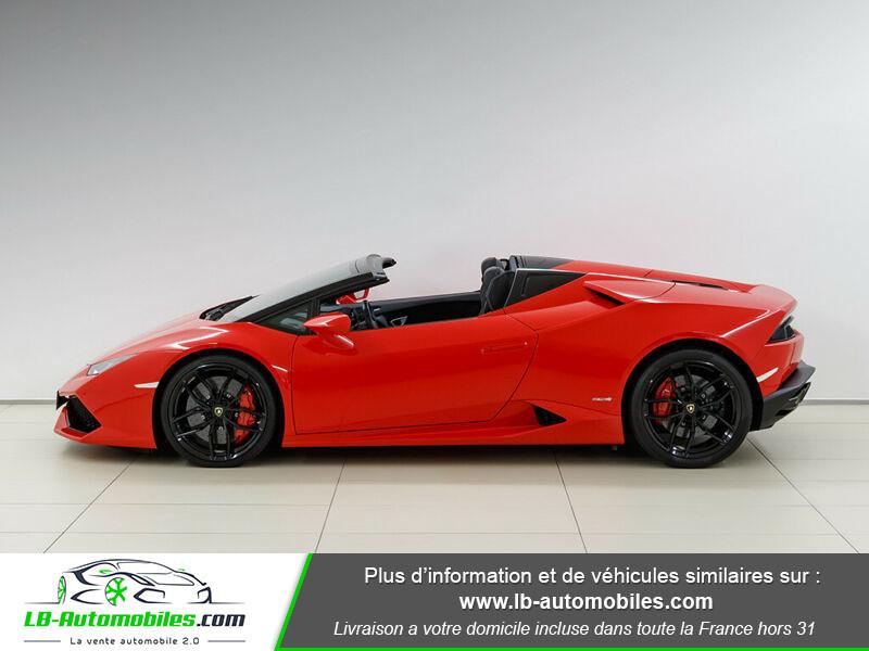 Lamborghini Huracan 5.2 V10 LP610-4 Rouge occasion à Beaupuy - photo n°11