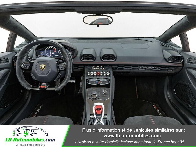 Lamborghini Huracan 5.2 V10 LP610-4 Rouge occasion à Beaupuy - photo n°2
