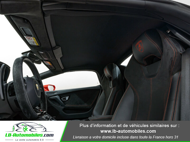 Lamborghini Huracan 5.2 V10 LP610-4 Rouge occasion à Beaupuy - photo n°7