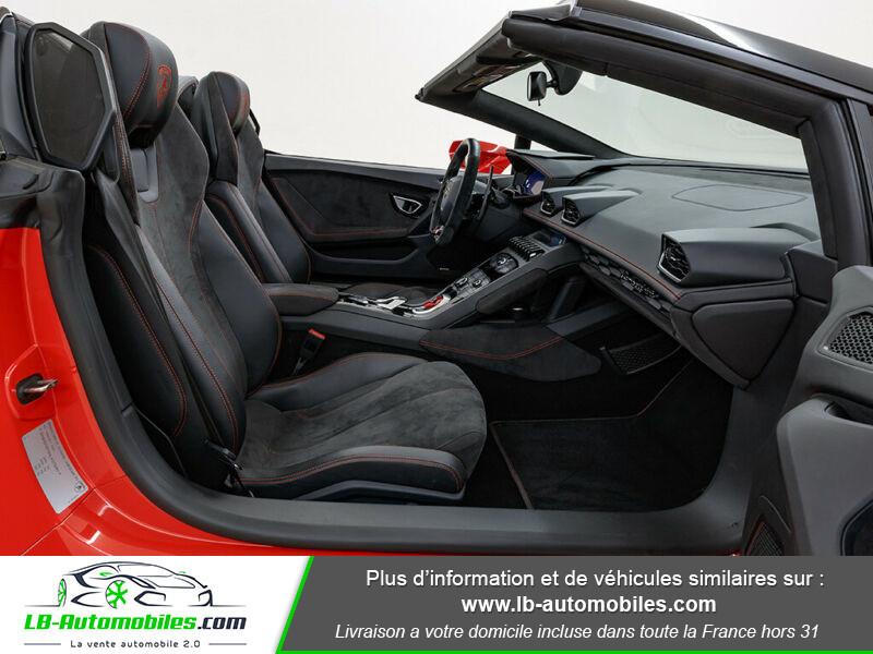 Lamborghini Huracan 5.2 V10 LP610-4 Rouge occasion à Beaupuy - photo n°4