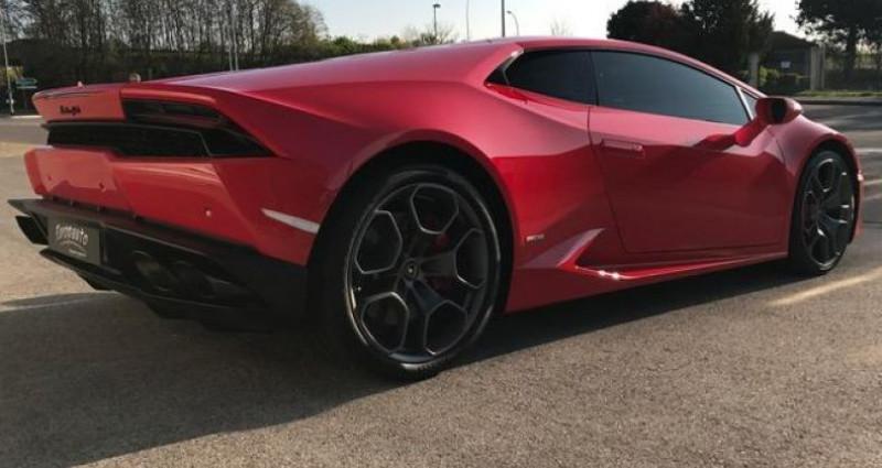 Lamborghini Huracan Coupe LP 610-4 Rouge occasion à DIJON - photo n°4