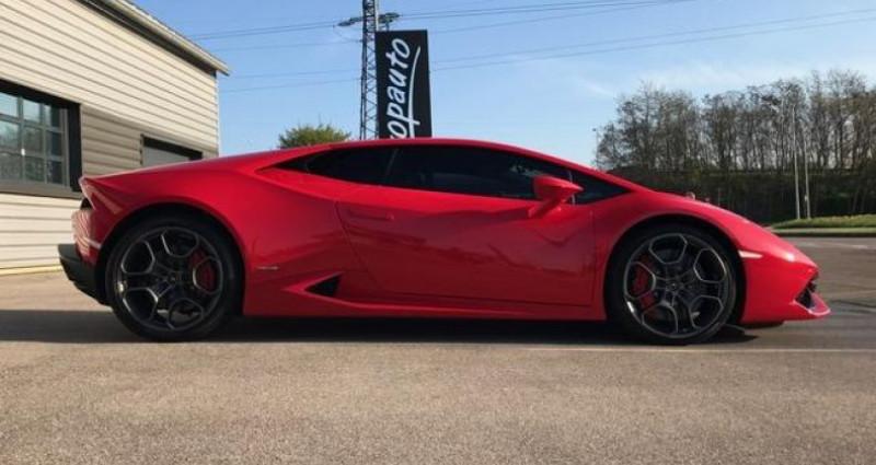 Lamborghini Huracan Coupe LP 610-4 Rouge occasion à DIJON - photo n°2