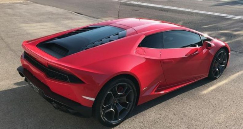 Lamborghini Huracan Coupe LP 610-4 Rouge occasion à DIJON - photo n°3
