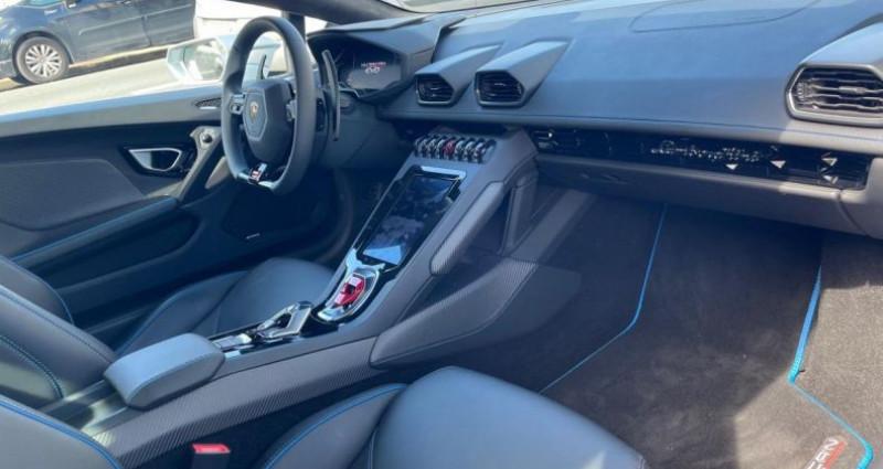 Lamborghini Huracan EVO V10 LP 640-4 EVO - 1ERE MAIN TVA  occasion à LE BLANC MESNIL - photo n°6
