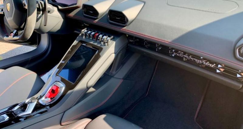 Lamborghini Huracan Huracan Evo LP640-4 Noir occasion à Paris - photo n°5