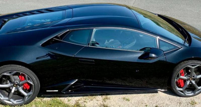 Lamborghini Huracan Huracan Evo LP640-4 Noir occasion à Paris - photo n°4