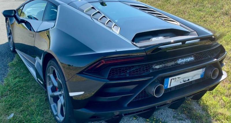 Lamborghini Huracan Huracan Evo LP640-4 Noir occasion à Paris - photo n°3