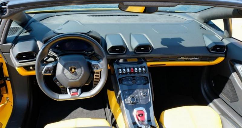 Lamborghini Huracan Lamborghini Huracan 580-2 Spyder Jaune occasion à Le Thoronet - photo n°5