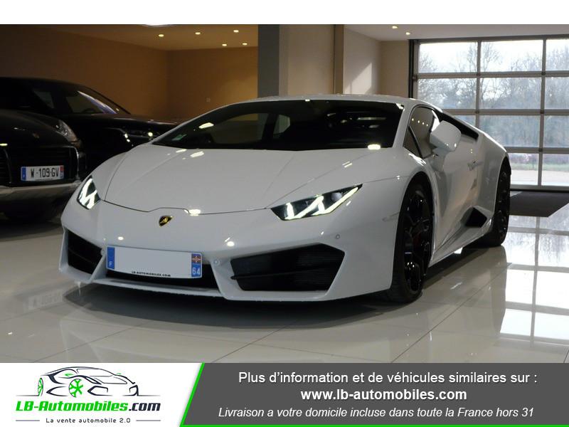 Lamborghini Huracan LP 580-2 Blanc occasion à Beaupuy