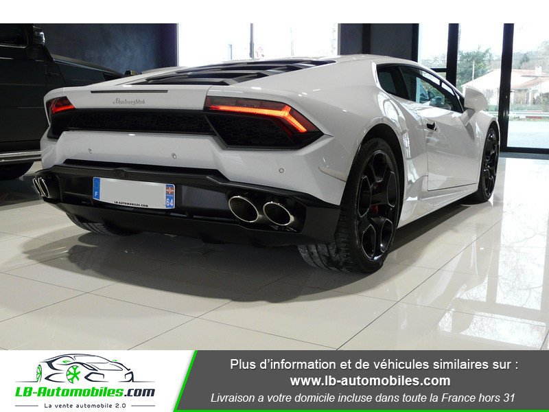 Lamborghini Huracan LP 580-2 Blanc occasion à Beaupuy - photo n°3