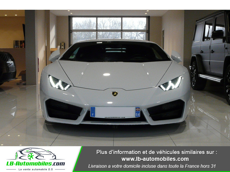 Lamborghini Huracan LP 580-2 Blanc occasion à Beaupuy - photo n°16