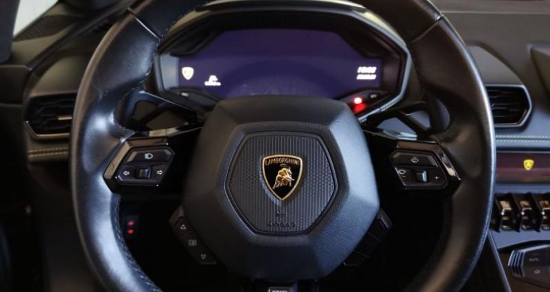 Lamborghini Huracan SPYDER LP 610-4 (TVA)  occasion à Charentilly - photo n°7