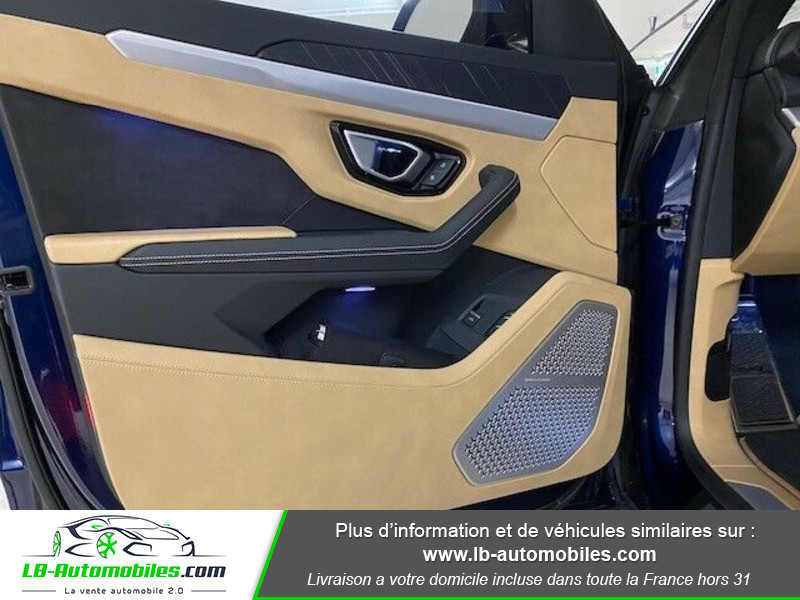 Lamborghini Urus 4.0 V8 650 ch BVA8 Bleu occasion à Beaupuy - photo n°5