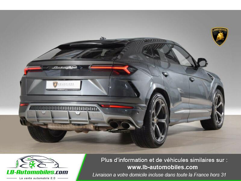 Lamborghini Urus 4.0 V8 650 ch BVA8 Gris occasion à Beaupuy - photo n°3