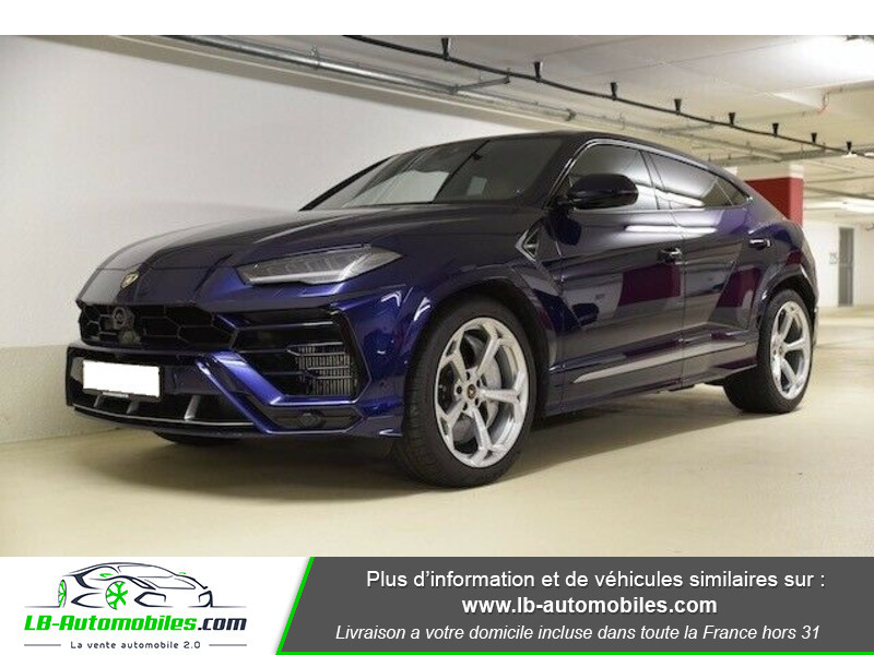 Lamborghini Urus 4.0 V8 650 ch BVA8 Bleu occasion à Beaupuy