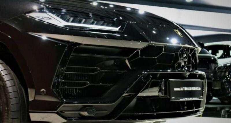 Lamborghini Urus Lamborghini Urus * PACK STYLE * B & O * PACK ADAS * 22 LM *  Noir occasion à Mudaison - photo n°4