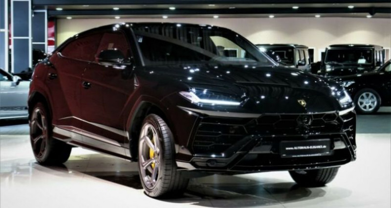 Lamborghini Urus Lamborghini Urus * PACK STYLE * B & O * PACK ADAS * 22 LM *  Noir occasion à Mudaison - photo n°3