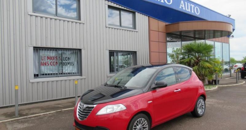 Lancia Ypsilon 1.2 8v 69 ch StopetStart Platinum Bordeaux occasion à Saint Parres Aux Tertres